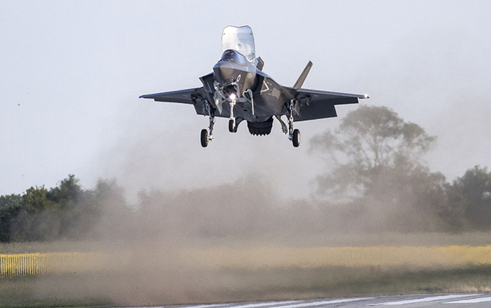 F-35 Joint Program Office announces sustainment contracts with BAE Systems.