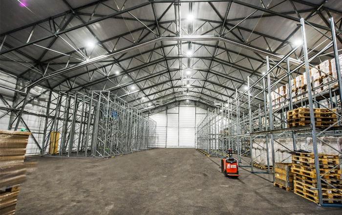 The Continuing Growth Of Online Shopping Drives Demand For New Adaptable Warehousing.