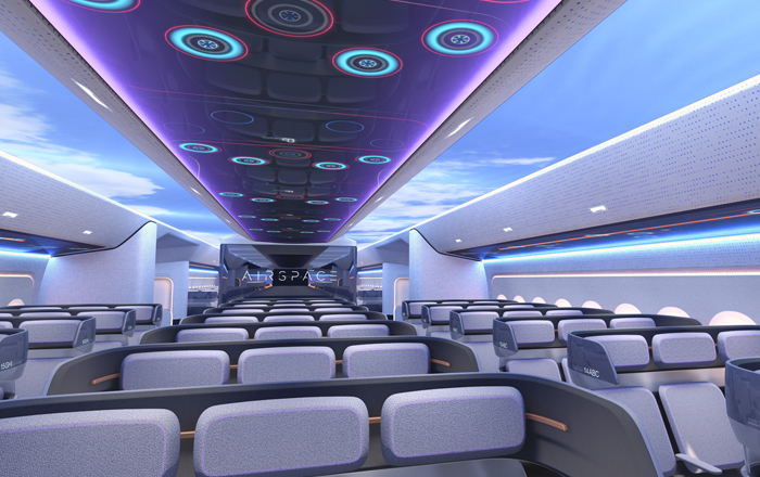Airbus Focuses On Connected-Cabin Innovations And Long-Range Passenger Experience At APEX Expo 2019, Los Angeles USA.