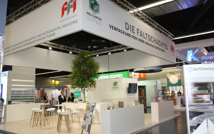 FFI And Pro Carton At FachPack 2019.