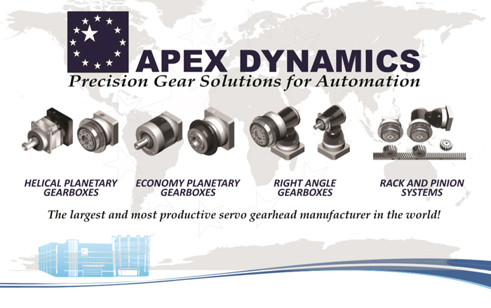 APEX Dynamics' World-Class Support Package For Servo Gearboxes.