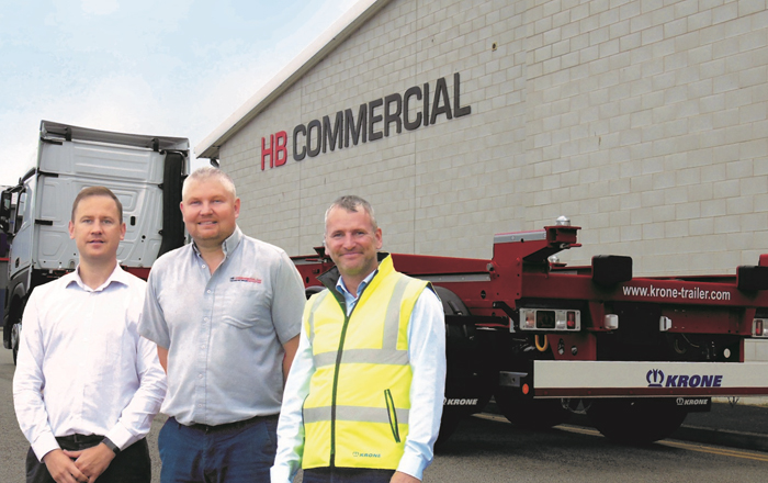 HB Commercial Grows Again With New Trailers From Krone.