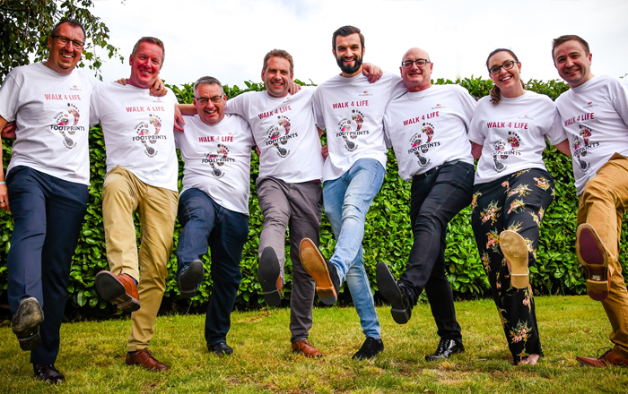 Russell Roof Tiles Steps It Up For Charity.
