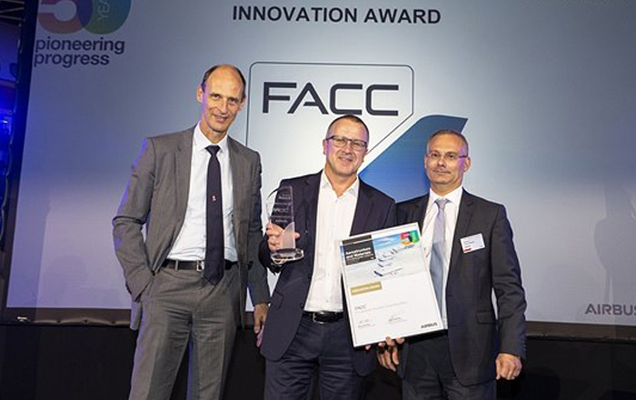 FACC Receives 'Innovation Award' From Airbus.