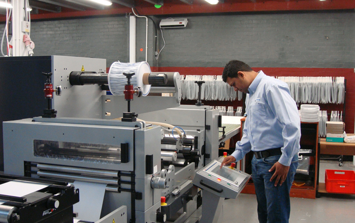 £600,000 Printer Investment Boosts Growth At Peterborough Label Manufacturer.
