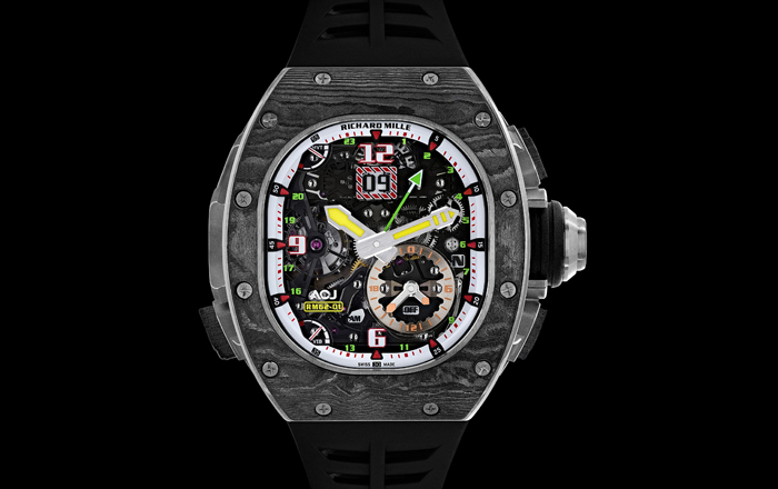 ACJ Launches New Watch With Richard Mille.