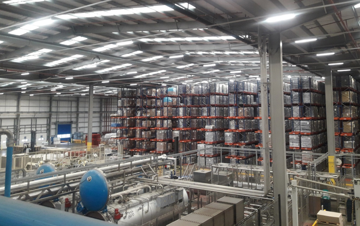 Pet Food Supplier Fetches Huge Energy Savings Thanks To Ecolighting's LED Luminaires.