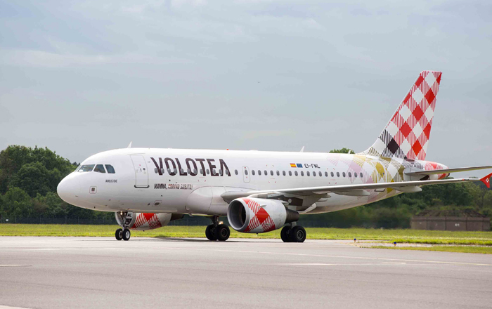 Volotea Selects Airbus Services As Its Exclusive Long-Term Partner For A319 Family Pilot Training.