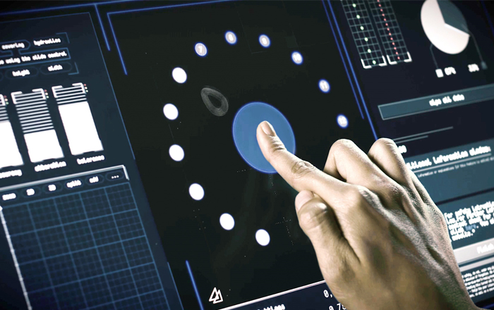 TwinTouch Industrial Touchscreens With Force Detection.