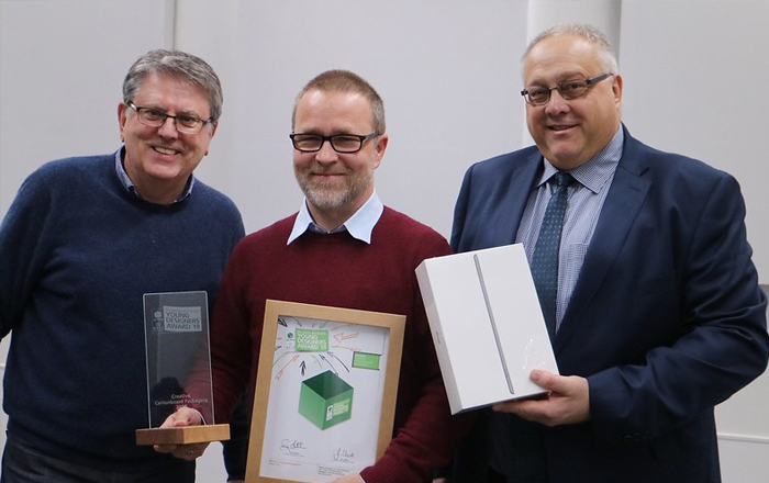 Ravensbourne University Student, Dariusz Kowalczyk, Announced As Winner Of National Packaging Design Competition.