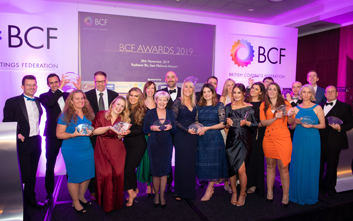 British Coatings Federation Announces Winners Of 10th Anniversary Coatings Industry Awards.