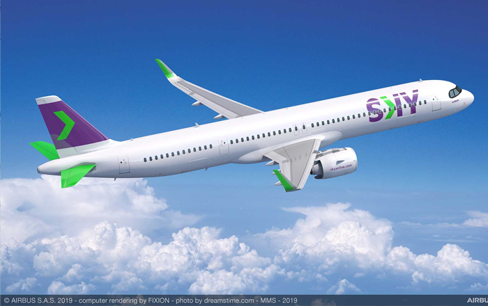 Chile's SKY Orders 10 A321XLRs To Expand Its International Footprint.
