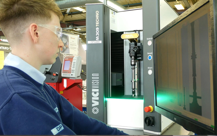 Customers Feeling The Benefit As Optical Measurement Slashes Firm's Down Time.